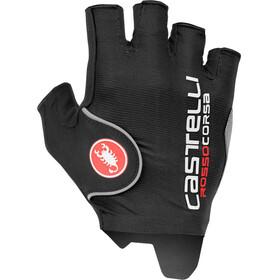 Castelli Rosso Corsa Pro fietshandschoenen Heren zwart